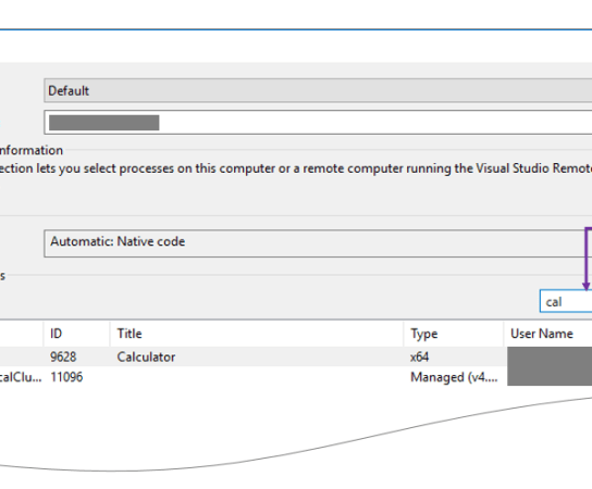 """Did you know – """"Attach to Process"""" dialog window now has a """"Process Filtering"""" option in Visual Studio 2017 ?"""