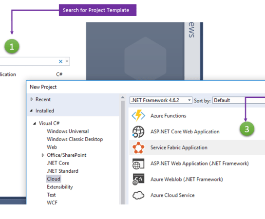 Picking up New Project Template right from the Start Page in Visual Studio 2017