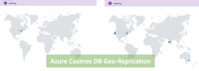 Cosmos DB Geo-Replication In Process