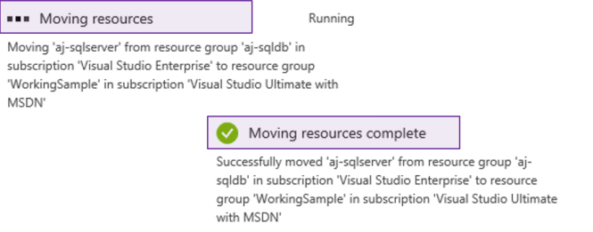 How to move Azure Resources between Azure Subscriptions?
