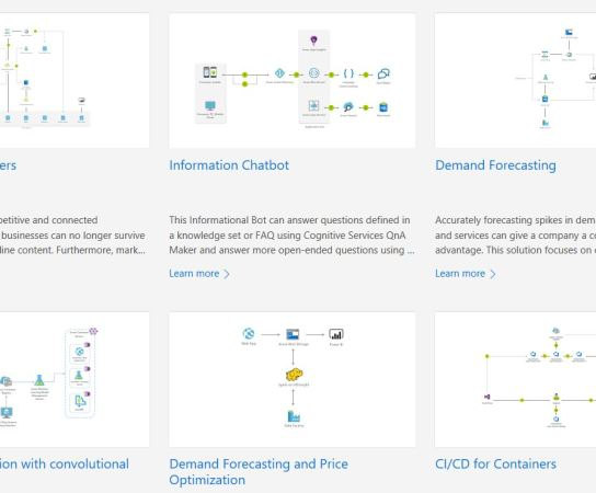 Azure Solution Reference Architectures