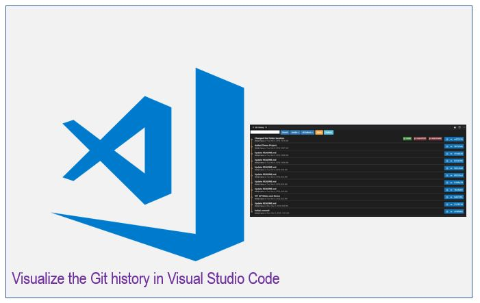 Visualize the Git history in Visual Studio Code