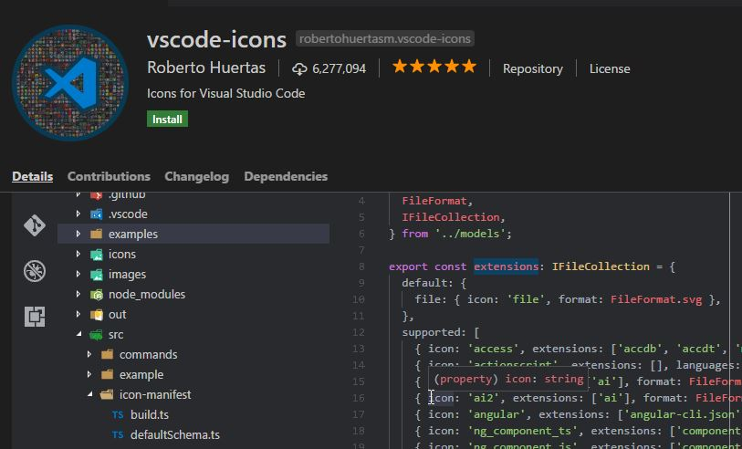 Bringing custom icons to your Visual Studio Code projects