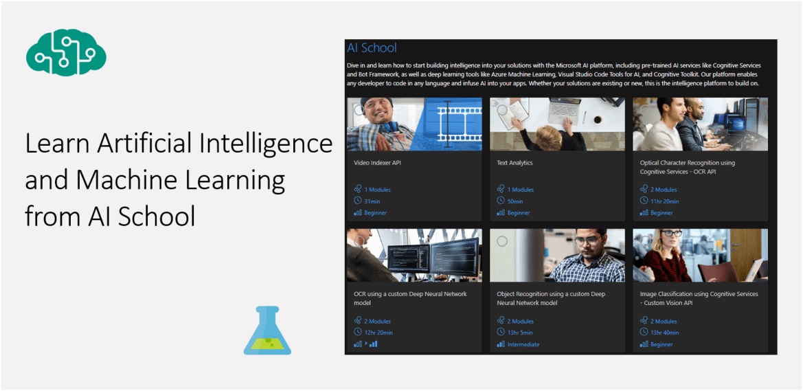 Learn Artificial Intelligence and Machine Learning from AI School