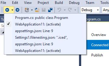 Quickly navigate through Visual Studio - Stack