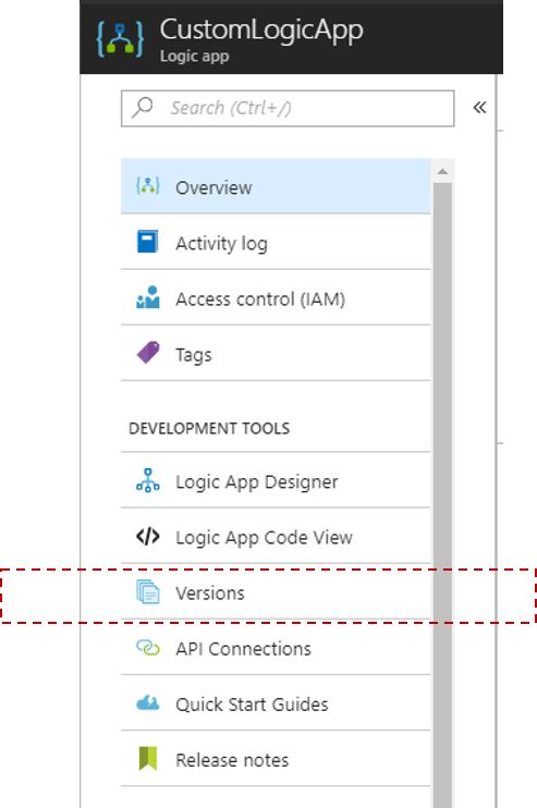 Quickly rollback Azure Logic Apps to Previous Version