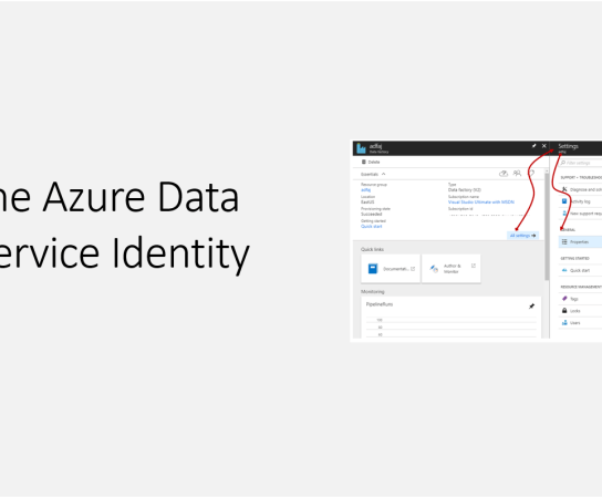 Getting the Azure Data Factory Service Identity