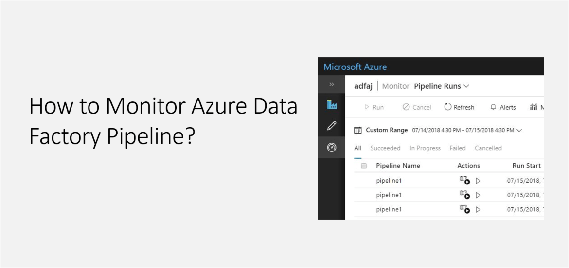 How to Monitor Azure Data Factory Pipeline?