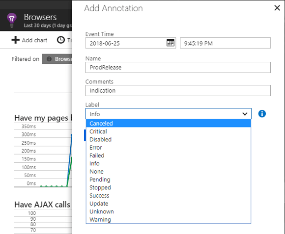 add annotations in Application Insights Charts - Add Annotation
