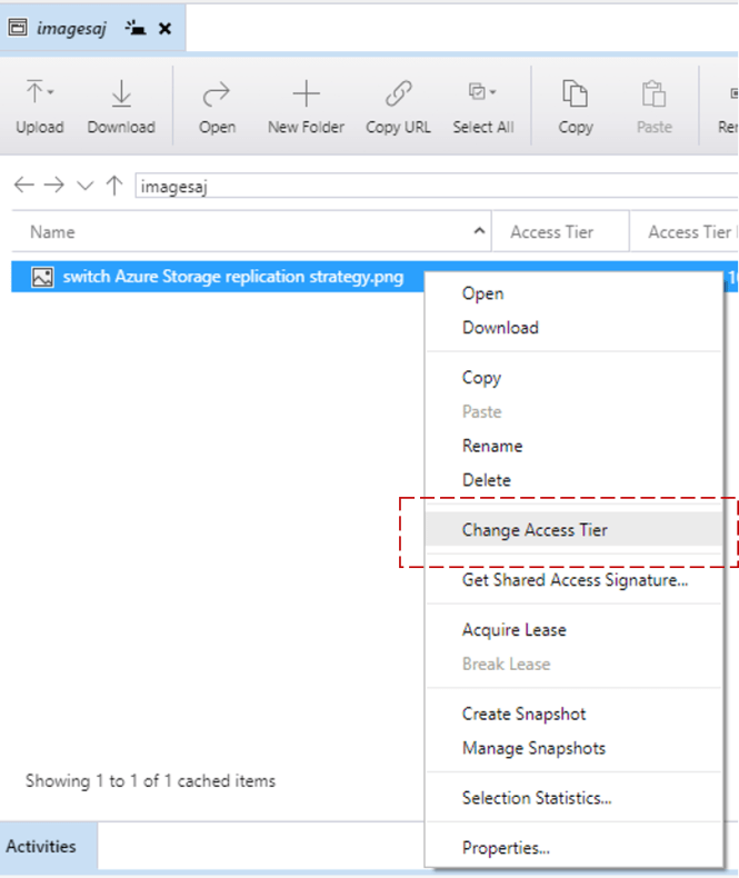 How to update Access Tier in Azure Storage Blob Level? - Daily  NET Tips