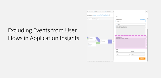 Excluding Events from User Flows in Application Insights - Featured