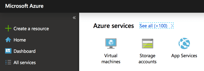 Choose your default view in Azure Portal - Home or Dashboad