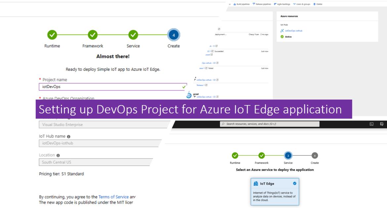 Setting up DevOps Project for Azure IoT Edge application
