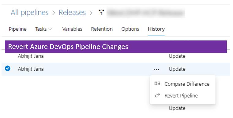 Revert Azure DevOps Pipeline Changes