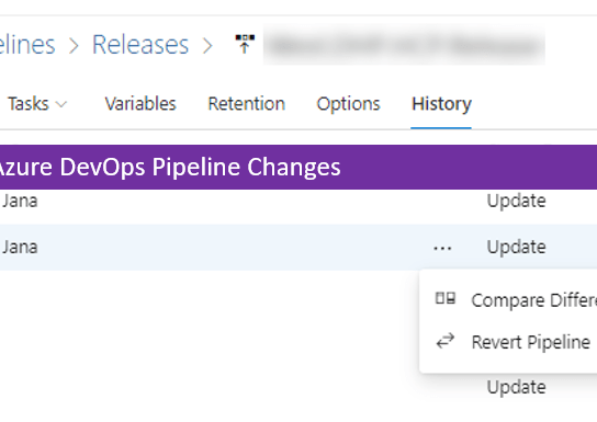 Revert Azure DevOps Pipeline Changes