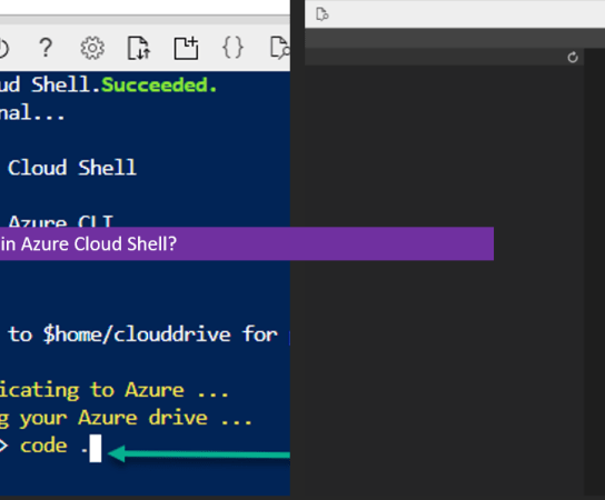 How to use the editor in Azure Cloud Shell?
