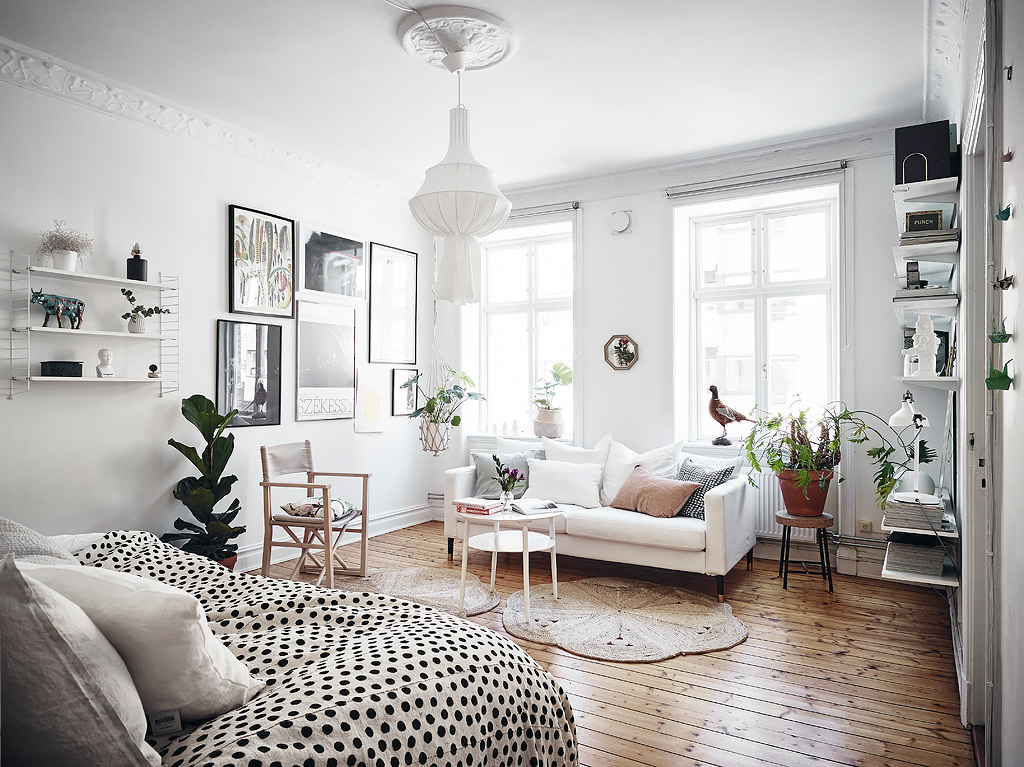 Another Charming Small Scandinavian Apartment