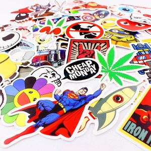 Stickerbomb Kit (100 Pieces)