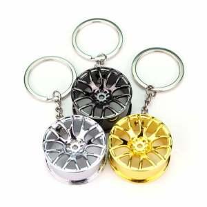 Concave Wheel Keychain