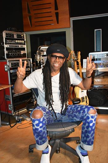 Photo: Nile Rodgers Facebook page August 23, 2014