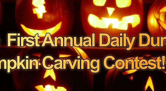 Duran Duran Pumpkin Carving Contest Voting!