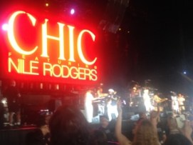 Chic takes the stage!