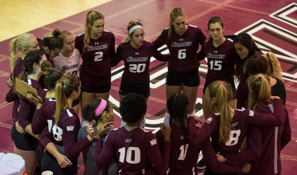 SIU volleyball falls to Indiana State in four set thriller ...