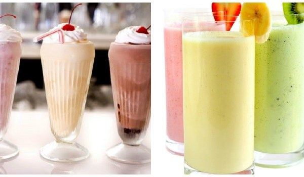 Smoothies over Milkshakes and Other Healthy Food Alternatives, milkshake, smoothie, milkshake vs smoothies, are smoothies healthy