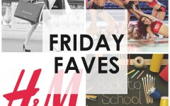Friday Faves, Friday Faves collage, h&M logo, blair waldorf, blair waldorf shopping spree, hit the floor, hit the floor vh1, back to school, back to school supplies, back to school shopping spree