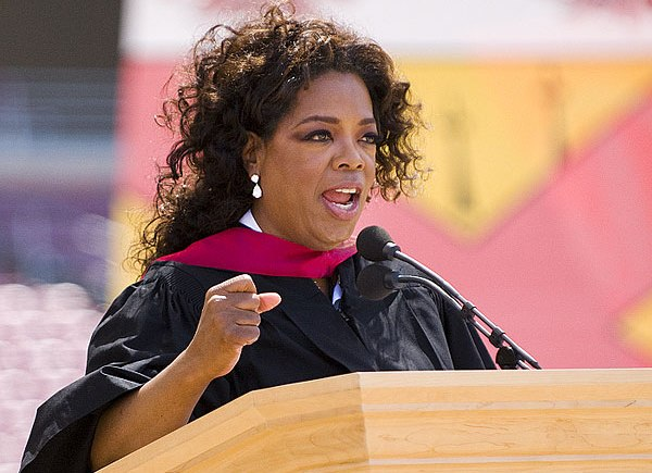 Inspirational Commencement Addresses, Oprah, Oprah graduation, Oprah Commencement Address at Stanford