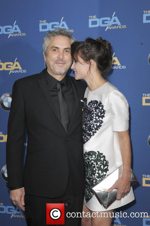 Director Alfonso Cuarons Girlfriend Sheherazade Goldsmith