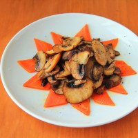 Pan Fried Mushroom with Butter
