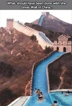 Great Wall of China?