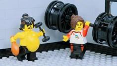Brick Channel Lego Ninja Go Gym Not Fail: Goodbye Fat Ninja