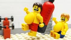 Lego Gym Food Fail – Body Building
