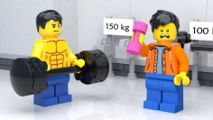 LEGO Gym Fail – Stop Motion (2018)