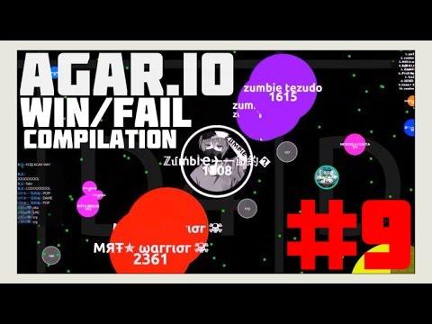 Agar.io – Win/Fail Compilation #9