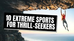 10 Most EXTREME Sports for Thrill-Seekers