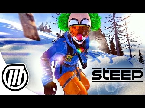 STEEP | Best Extreme Sports Game Ever!? | 60fps