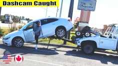 Ultimate North American Cars Driving Fails Compilation –  262 [Dash Cam Caught Video]