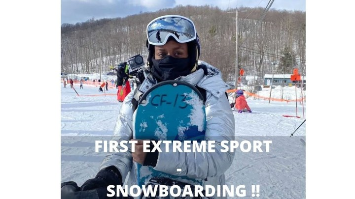 FIRST EXTREME SPORT – SNOWBOARDING
