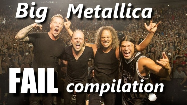 Big Metallica FAIL compilation | RockStar FAIL