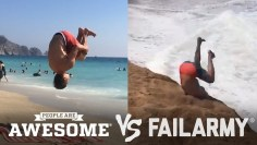 Backflips & Sandboarding | People Are Awesome vs. FailArmy