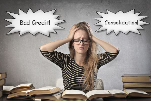 Bad-Credit-Student-Loan-Consolidation