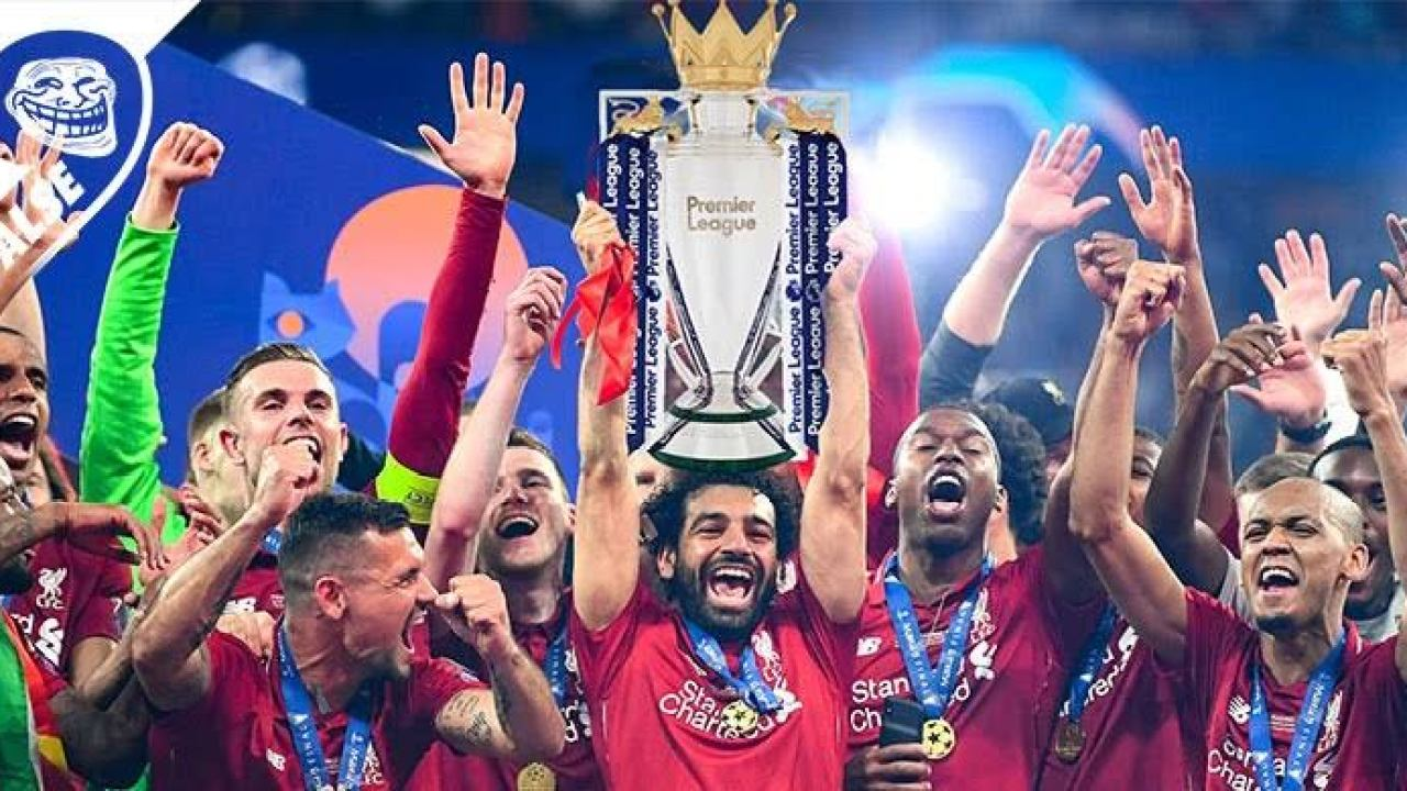 Yesterday, Liverpool were crowned Premier League champions ...