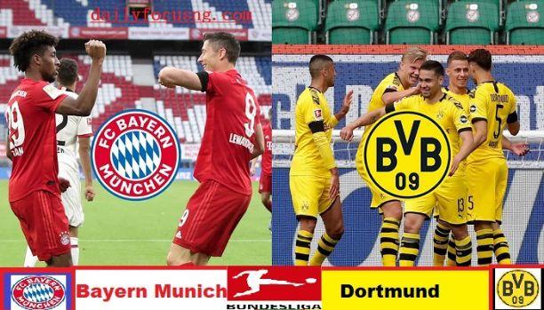 Watch Borussia Dortmund Vs Bayern Munich Live Streaming Match Daily Focus Nigeria