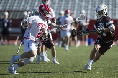 Men's lacrosse falls to No. 17 Lehigh 7-6 with 39 seconds ...