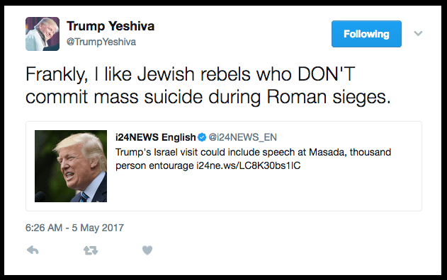 OMG Can you believe the news?? What does Trump Yeshiva say about this?