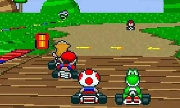 Super Mario Kart (SNES) - (C) Nintendo