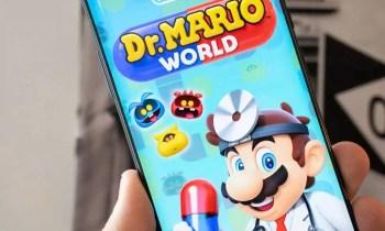 Dr. Mario World - (C) Nintendo
